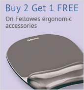 Fellowes 3 for 2