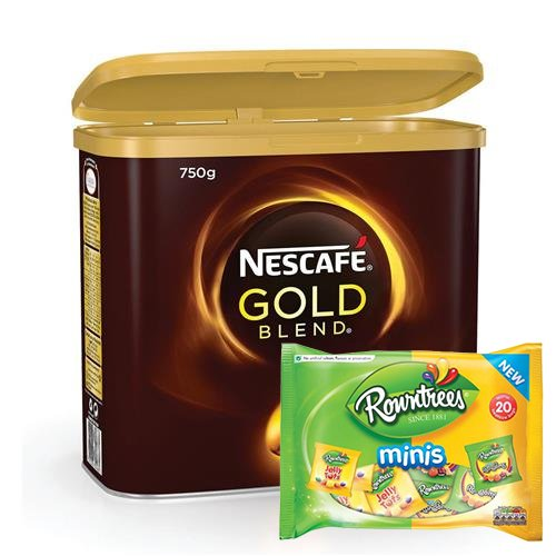 2 FREE packs of Rowntrees with Nescafe