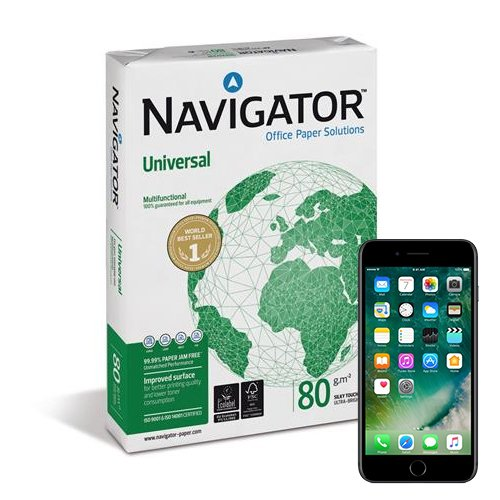 Win a FREE Iphone 7 with Navigator A4 paper