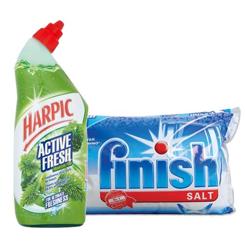 Multibuys and price cuts on cleaning products